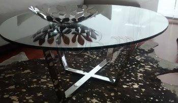 Mesas de Centro con Vidrio