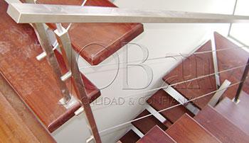Barandas de acero inoxidable y cable inoxidable B-03