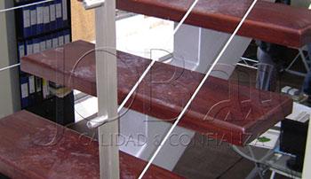 Barandas de acero inoxidable y cable inoxidable B-04
