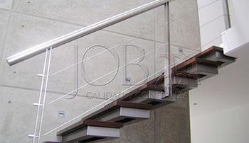 Barandas de acero inoxidable y cable inoxidable B-08