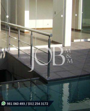 Barandas para piscina JOB