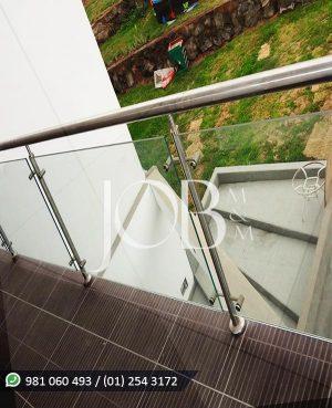 Barandas de acero inoxidable para balcón